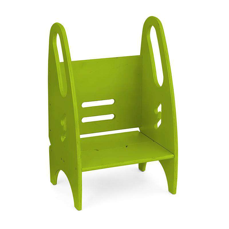Little Partners 3-in-1 Growing Step Stool | Apple Green