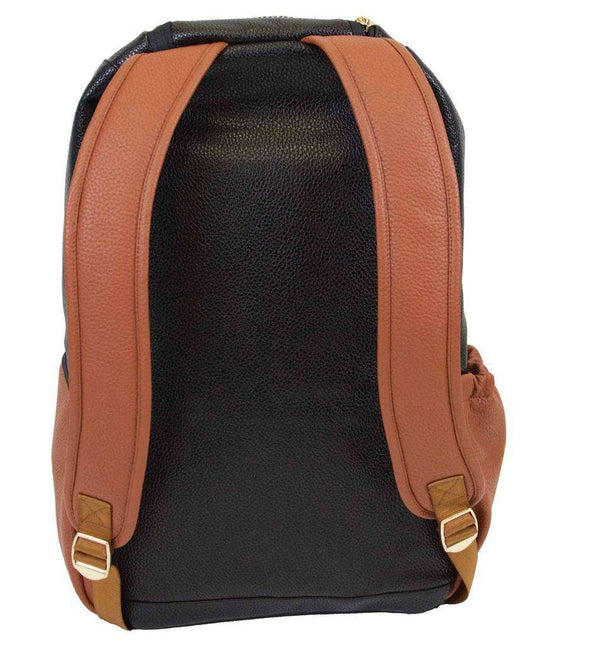Itzy Ritzy ~ Boss Diaper Bag Backpack ~ Coffee & Cream