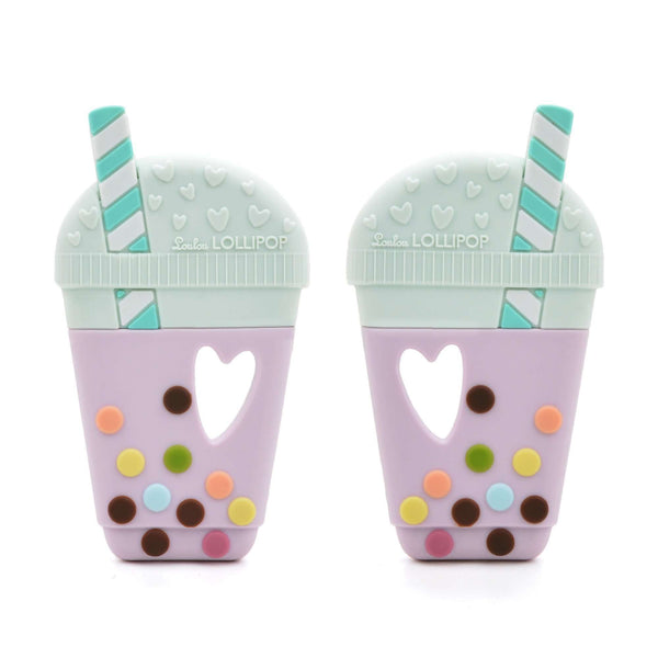 Loulou Lollipop | Bubble Tea Silicone Teether ~ Original