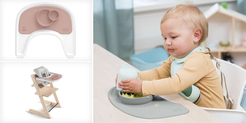 ezpz™ by Stokke™ silicone mat for Stokke® Tray - Pink
