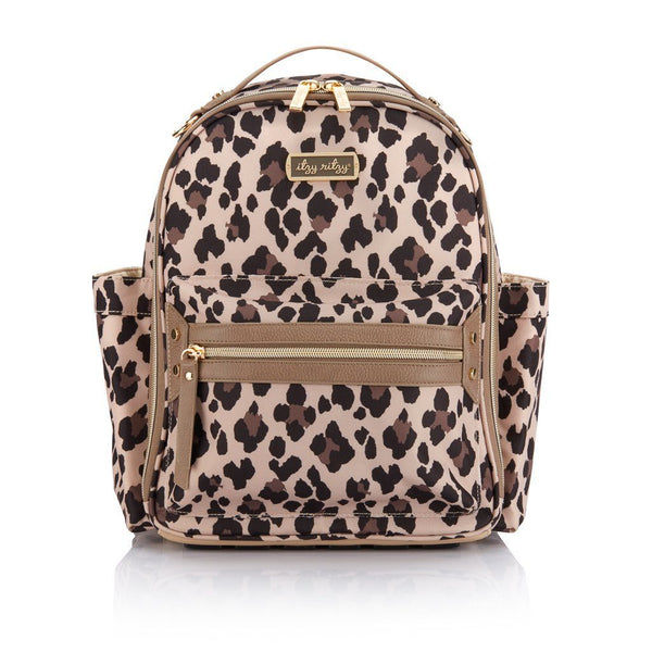 Itzy Ritzy - Leopard Mini Diaper Bag