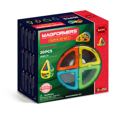 Magformers | Basic Line:Curve 20 Piece Set