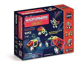 Magformers | Vehicle Set Line : Wow 16 Piece Set