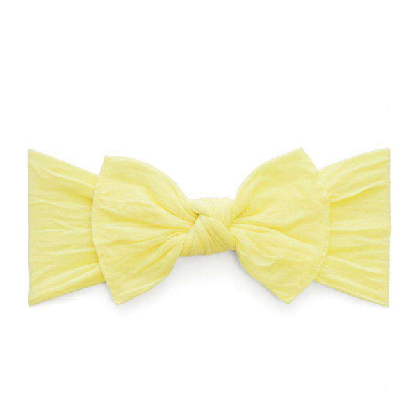 Baby Bling Bows | Preemie Knot Headband ~ Lemon