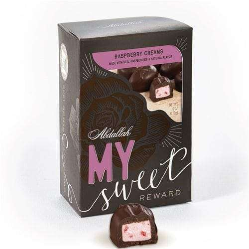 Abdallah Chocolate | My Sweet Reward With Card ~ Raspberry Creams