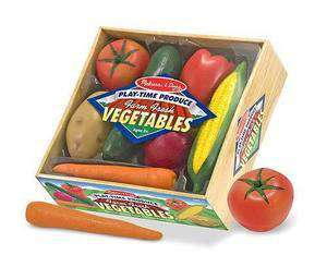 Melissa & Doug | Playtime Produce Farm Fresh Vegetables