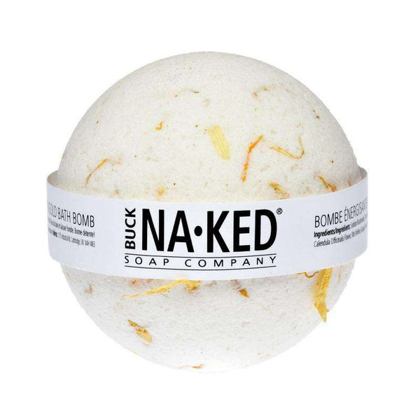 Buck Naked Soap Company | Bath Bomb ~  Energizing Marigold