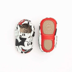 Freshly Picked | Mini Sole Moccs ~ Mickey Mouse