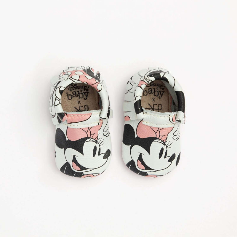 Freshly Picked | Mini Sole Moccs ~ Minnie Mouse