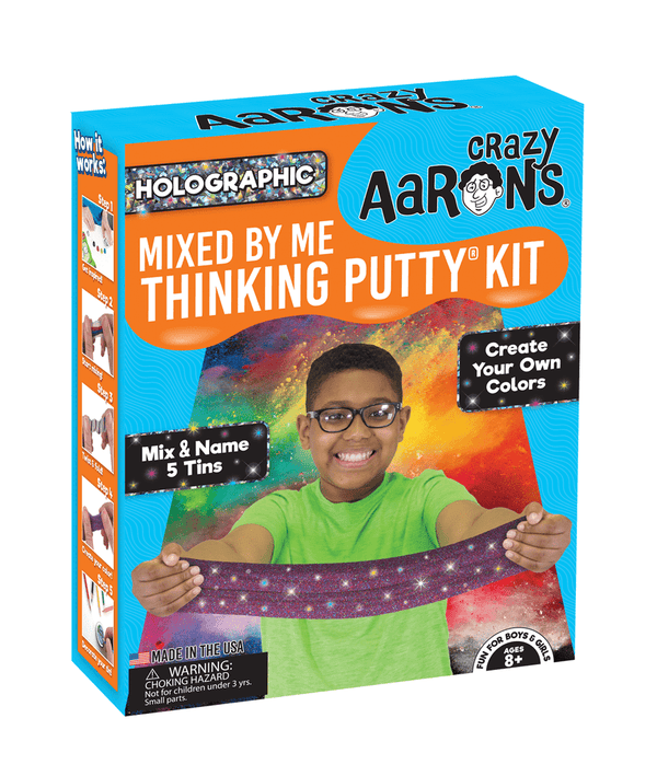 Crazy Aaron's Thinking Putty | Holographic Mixed By Me Kit