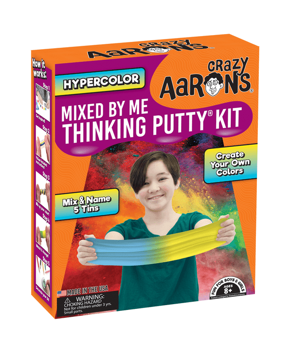 Crazy Aaron's Thinking Putty | Hypercolor Mixed By Me Kit