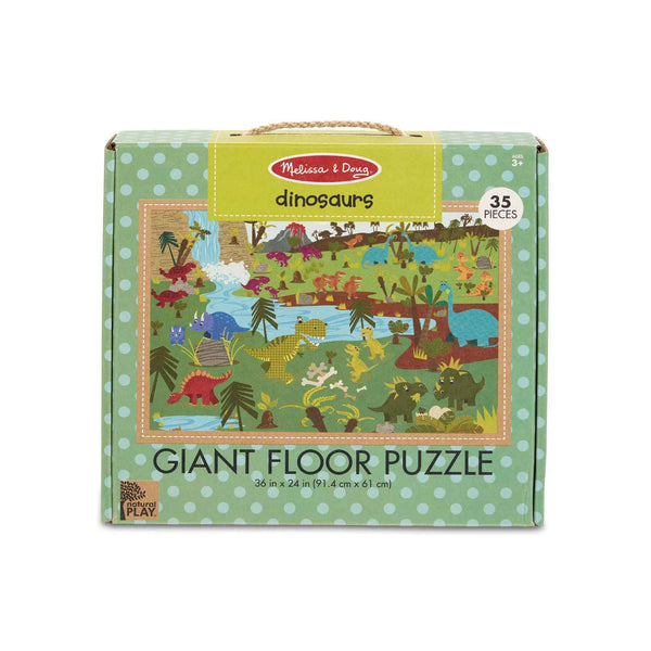 Melissa & Doug | Natural Play Giant Floor Puzzle ~ Dinosaurs