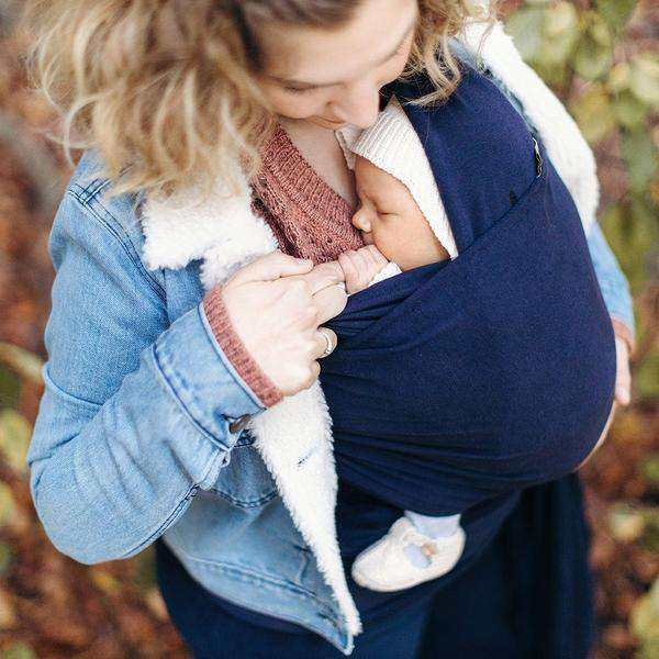 Boba Baby Carrier Wrap | Navy Blue