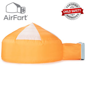 AirFort Inflatable Air Tent - Creamsicle Orange