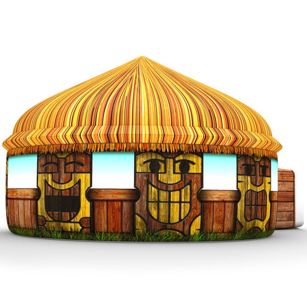 AirFort Inflatable Air Tent - Tiki Hut