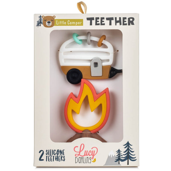 Lucy Darling ~ Little Camper Teether Toy