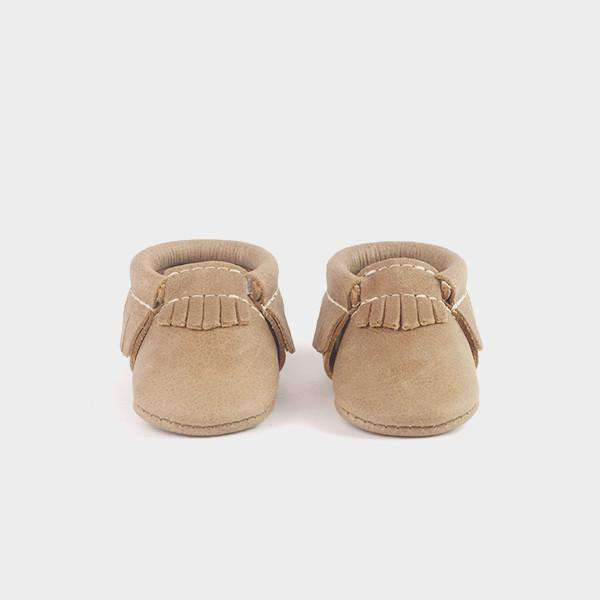 Freshly Picked | Newborn Moccs ~ Weathered Brown