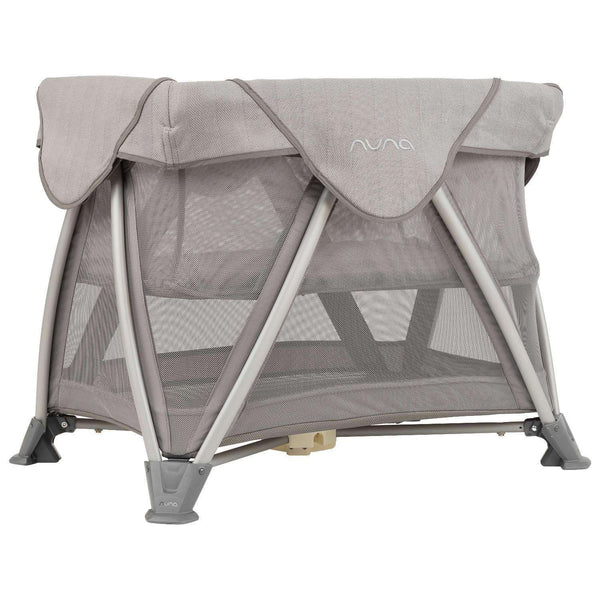 Nuna Sena Aire Mini Travel Crib + Playard 2019 | Champagne