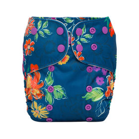 Lalabye Baby One-Size Cloth Diaper ~ Ever Wild