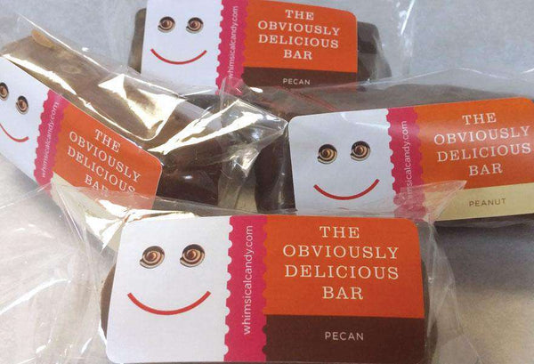 Whimsical Candy | The Obviously Delicious Bar ~ Pecan
