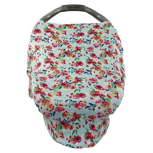 Bumblito | Bee Covered ~ Aqua Floral