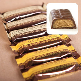 Abdallah Chocolate ~ Peanut Butter Bar