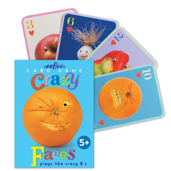 Playing Cards | Crazy Faces