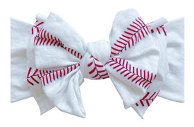 Baby Bling Bows | Printed Fab ~ Ball Game