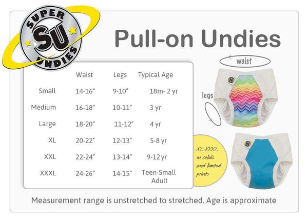 Super Undies | Pull - On Training Pants ~ Moo