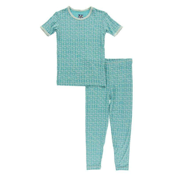Kickee Pants Print Short Sleeve Pajama Set | Neptune Elements