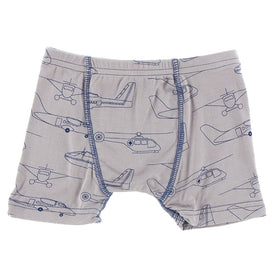 Kickee Pants Boy's Boxer Brief | Feather Heroes in the Air
