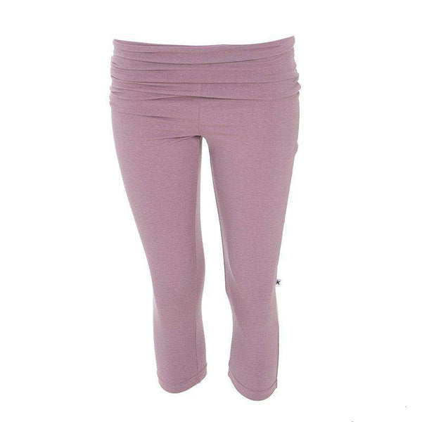 Solid Women's Performance 3/4 Legging ~ Raisin