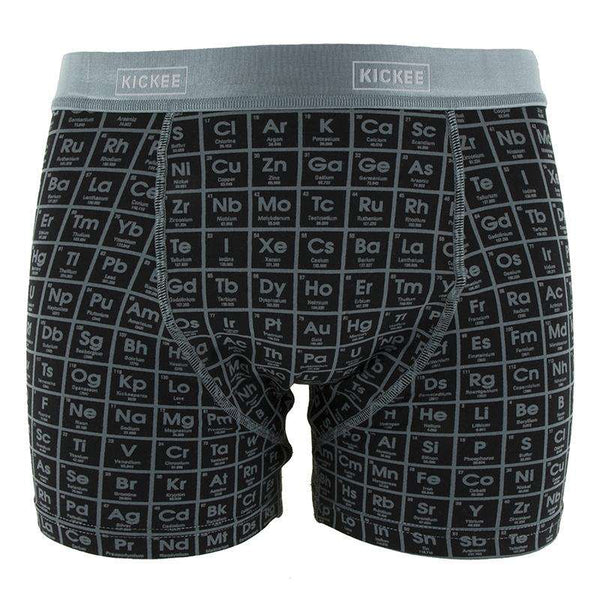Kickee Pants Men's Boxer Brief | Midnight Elements