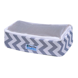 Planet Wise Packing Cube ~ Gray Chevron Way
