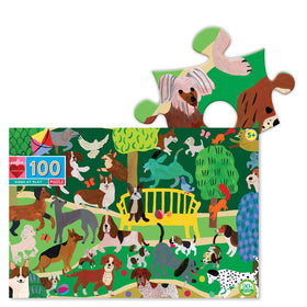 Eeboo | Dogs At Play 100 Piece Puzzle