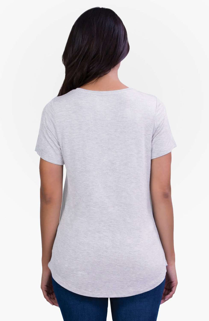 Belly Bandit | Perfect Nursing Collection | Gray Perfect Nursing Tee
