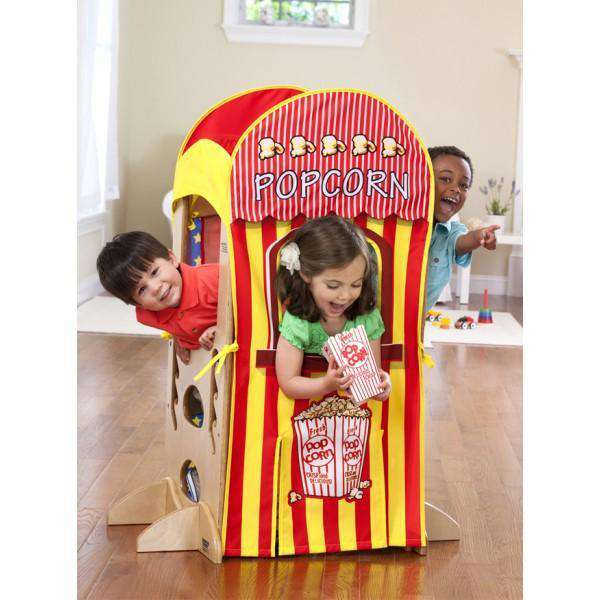 Little Partners Playhouse Kit: Popcorn Stand & Puppet Show