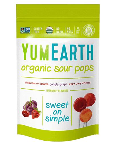 YumEarth | Organic Pops 14 Ct ~ Sour