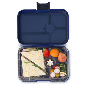 Yumbox Tapas 4 Compartment  ~ Portofino Blue