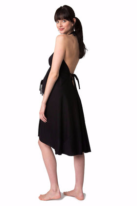 Pretty Pushers | Original Labor & Delivery Gown ~ Black