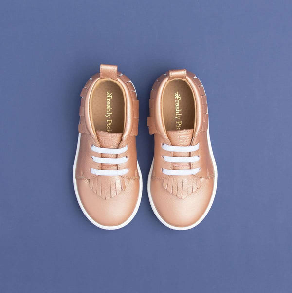 Freshly Picked | Rose Gold Sneaker Mocc