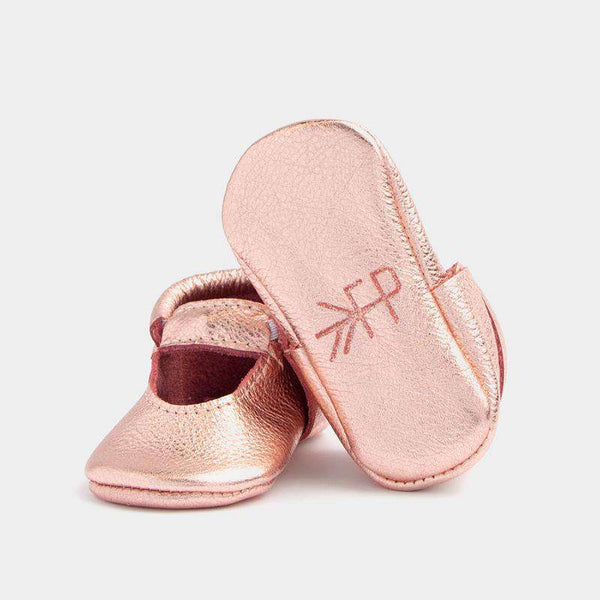 Freshly Picked | Ballet Flat Moccs ~ Rose Gold