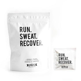Happy Spritz - Run Sweat Recover Towelette 7 Day Bag