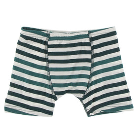 Kickee Pants Boy's Boxer Brief | Wildlife Stripe