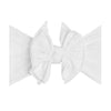 Baby Bling Bows | Shab-Bow-Lous~ White Dot