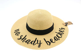 CC Beanie | Floppy Sun Hat ~ No Shady Beaches