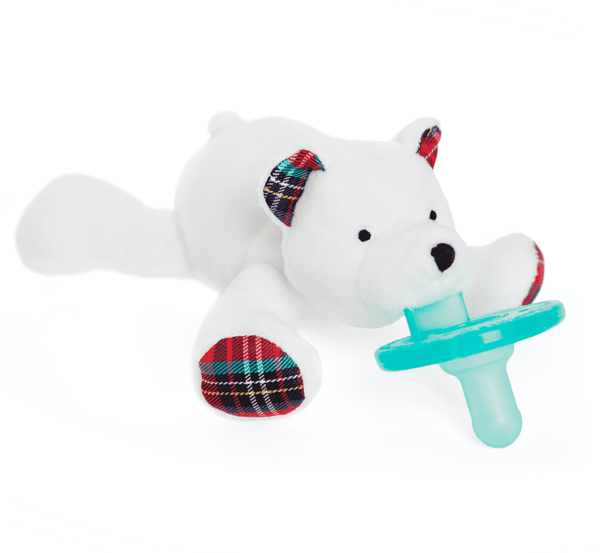 WubbaNub Pacifier | Polar Bear