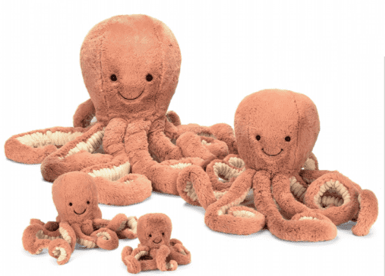 Jellycat Odell Octopus Mom S Milk Boutique