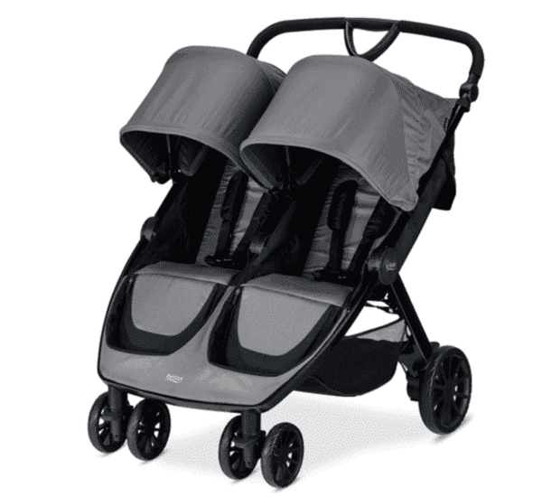 Britax 2019 B-Lively Double Stroller *ships in April*