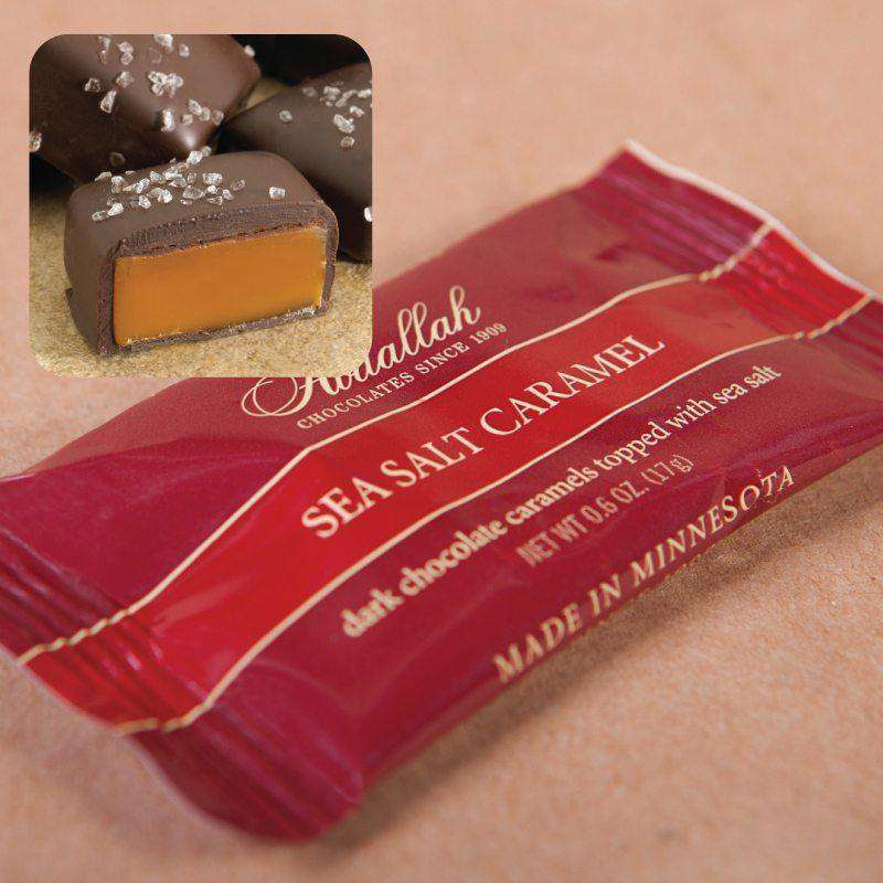 Abdallah Chocolate ~ 10 Piece Sea Salt Caramel